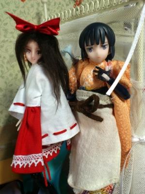 着物と巫女ドレス