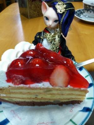 お迎えケーキ