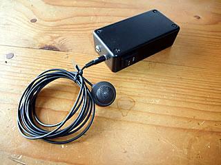 カロッツエリア音響測定マイクPC Line adaptor完成品