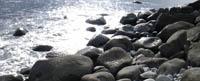 手強いゴロタ浜
