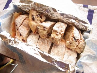 根岸さんの手作りパン