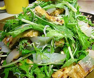 ショウガ風味のこんにゃくサラダ