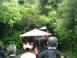志賀海神社にて