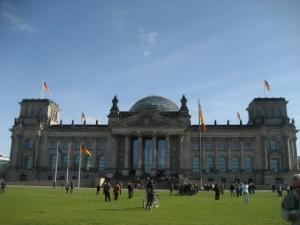 ドイツ連邦議会議事堂(旧帝国議会議事堂)