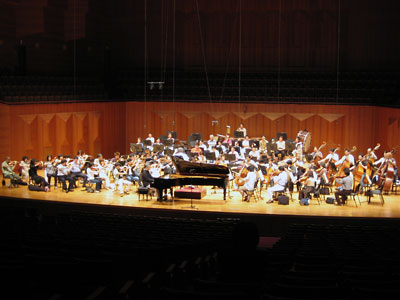 Rehearsal at Seoul arts senter
