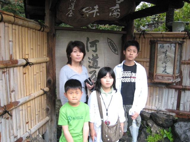京都の蕎麦屋
