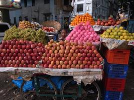 果物売りの少年