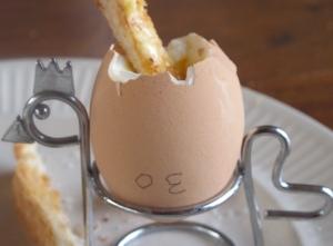boild egg & soldgers