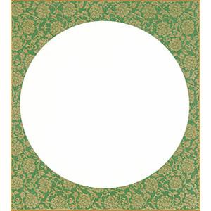 円窓 緑ドンス
