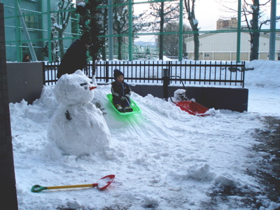 2008雪遊び