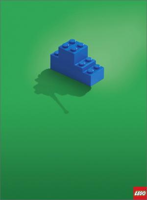 LEGOのポスター