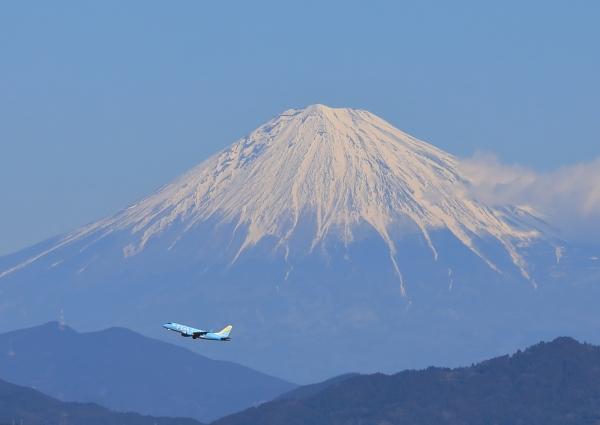 富士山 静岡空港