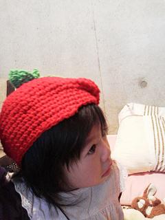 姪っ子と帽子