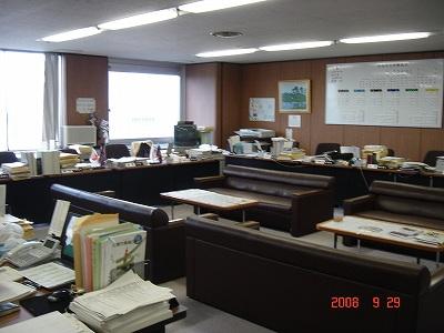 自民党控室