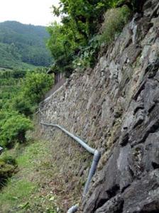 2009あらし山の石垣