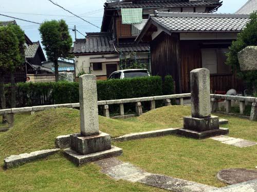 藤樹先生のお墓