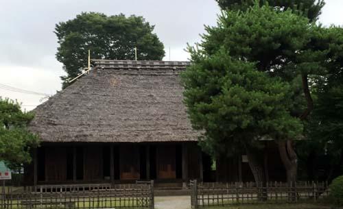 金次郎さんの生家
