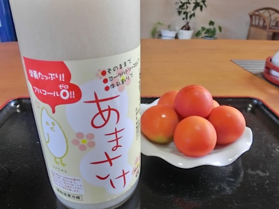 トマトと甘酒は相性いい!