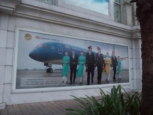 ベトナム航空の広告