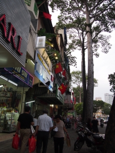 サイゴンスクエア付近