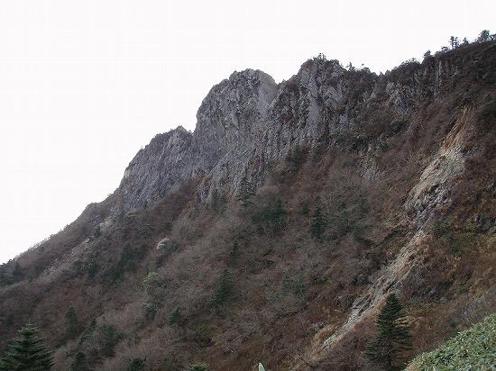 石鎚山 北壁 紫岳会ノーマルルー...