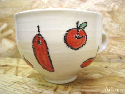 りんごマグカップ