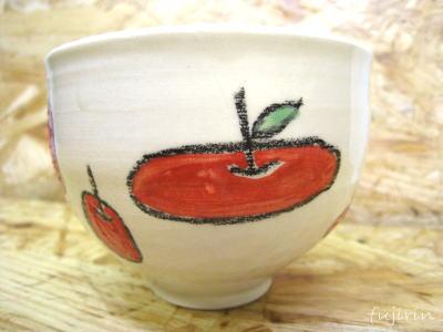 りんごマグカップ2