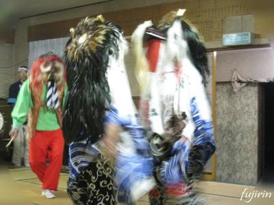 鬼沢獅子踊り4