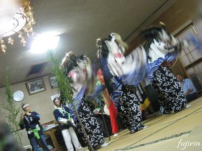 鬼沢獅子踊り5