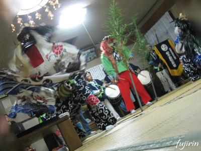 鬼沢獅子踊り6