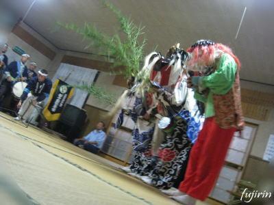 鬼沢獅子踊り7