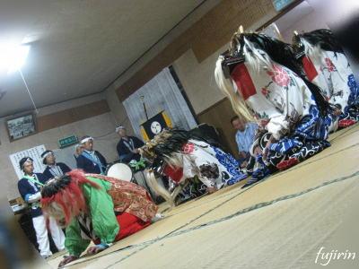 鬼沢獅子踊り9