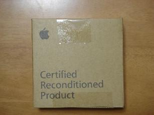 iPod shuffle 外箱