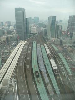 ホテルメトロポリタン丸の内から見た東京駅
