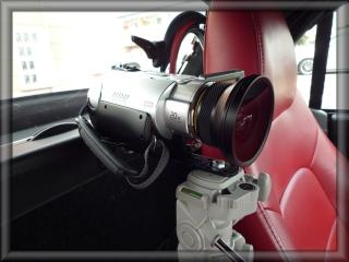 コペンに車載カメラを設置