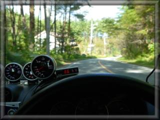 コペンで安曇野市ドライブ