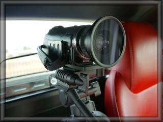 コペン車載カメラの設置