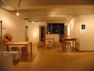 展覧会場の作り方/談笑スペース