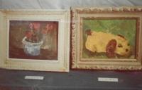小学4年生の油絵
