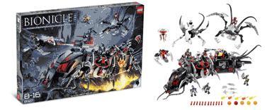 LEGO 8927 Toa Terrain Crawler!