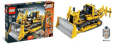 LEGO 8275 Motorized Bulldozer!