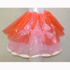 カラーポリ袋で衣装を作ってみた