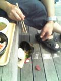 落ちた海鮮丼・・・・泣