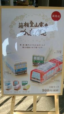箱根登山電車かまぼこ