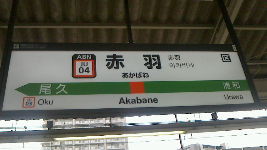 赤羽上野東京ライン