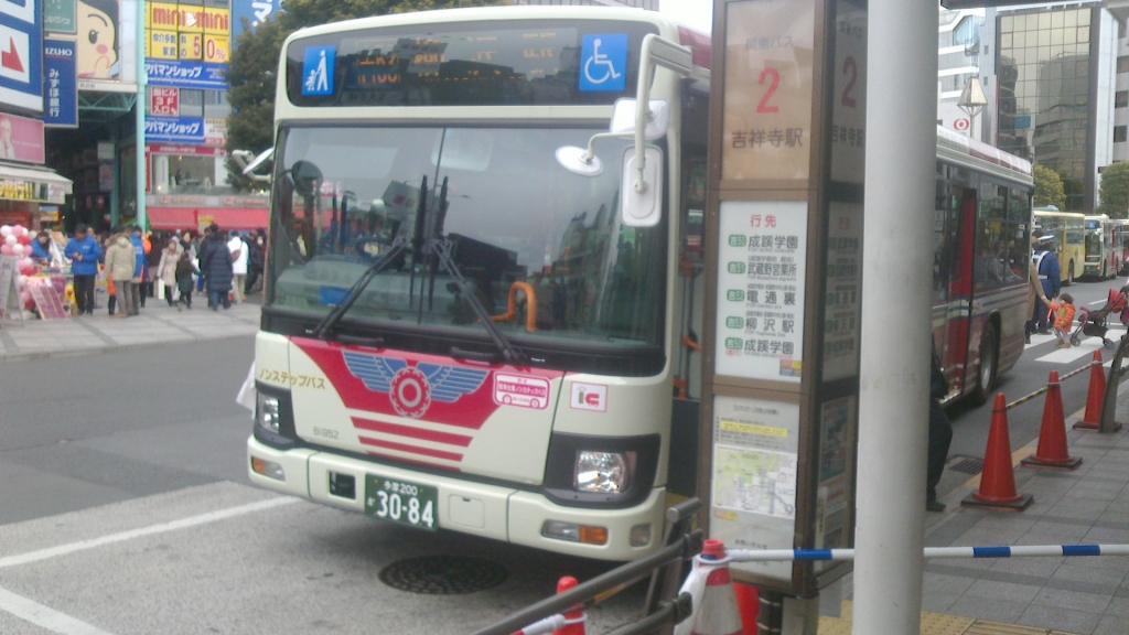 関東バスの新車