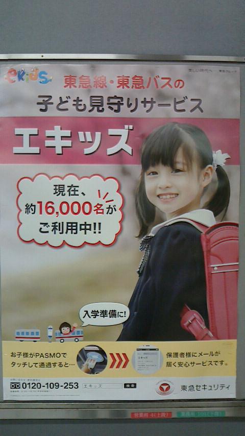 エキッズ駅広告