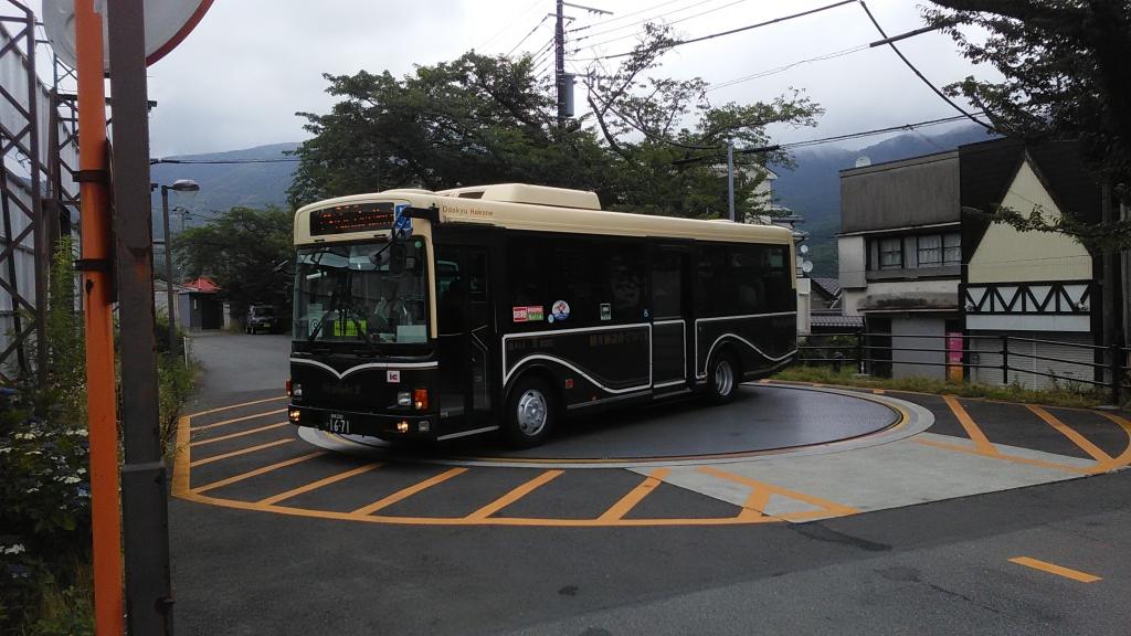 箱根登山施設めぐりバス1