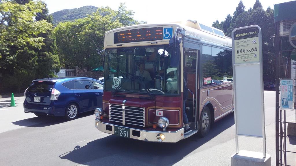 箱根登山施設めぐりバス3