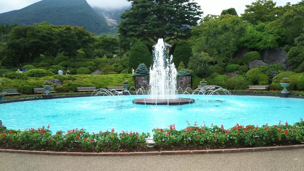 箱根強羅公園の噴水